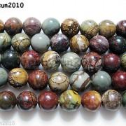 Natural-Picasso-Jasper-Gemstone-Round-Beads-16039039-Strand-4mm-6mm-8mm-10mm-12mm-280968288640-df56