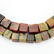 Natural-Picasso-Jasper-Gemstone-Square-Cube-Loose-Spacer-Beads-155-8mm-10mm-262548411500-4