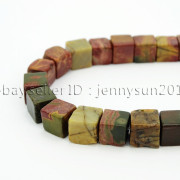 Natural-Picasso-Jasper-Gemstone-Square-Cube-Loose-Spacer-Beads-155039039-8mm-10mm-262548411500-a795