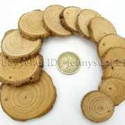 Natural-Pine-Tree-Wood-Sliced-Top-Drilled-Round-Pendant-Charm-Beads-25CM-9CM-371624762917-5