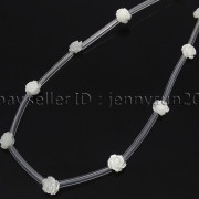 Natural-Pink-White-Mother-Of-Pearl-MOP-Shell-Rose-Flower-Carved-Spacer-Beads-282243061751-35a8