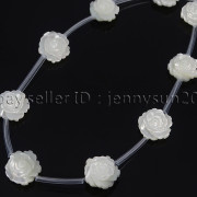 Natural-Pink-White-Mother-Of-Pearl-MOP-Shell-Rose-Flower-Carved-Spacer-Beads-282243061751-cb5f