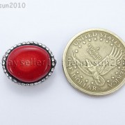 Natural-Red-Coral-Gemstones-Czech-Crystal-Rhinestones-Round-Nugget-Charm-Beads-371498741483-5