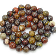Natural-Red-Tiger-Iron-Gemstone-Round-Spacer-Beads-155039039-4mm-6mm-8mm-10mm-12mm-262886332529-335f