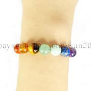 Natural-Reiki-Chakra-Gemstones-Round-Beads-Handmade-Adjustable-Bracelet-Healing-262784805350-39e7