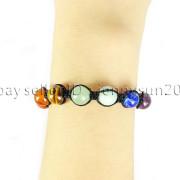 Natural-Reiki-Chakra-Gemstones-Round-Beads-Handmade-Adjustable-Bracelet-Healing-262784805350-7a33