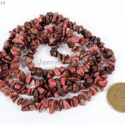 Natural-Rhodochrosite-Gemstone-5-8mm-Chip-Beads-35-Bracelet-or-Necklace-Making-261266266821-3