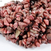 Natural-Rhodochrosite-Gemstone-5-8mm-Chip-Beads-35-Bracelet-or-Necklace-Making-261266266821-4