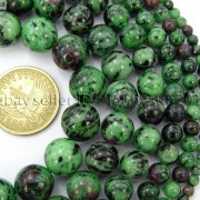 Natural-Ruby-In-Zoisite-Gemstone-Round-Beads-155-4mm-6mm-8mm-10mm-12mm-14mm-371423144208-2