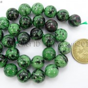 Natural-Ruby-In-Zoisite-Gemstone-Round-Beads-155-4mm-6mm-8mm-10mm-12mm-14mm-371423144208-4