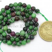 Natural-Ruby-In-Zoisite-Gemstone-Round-Beads-155039039-4mm-6mm-8mm-10mm-12mm-14mm-371423144208-0b2a