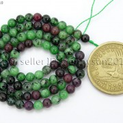Natural-Ruby-In-Zoisite-Gemstone-Round-Beads-155039039-4mm-6mm-8mm-10mm-12mm-14mm-371423144208-9fd9