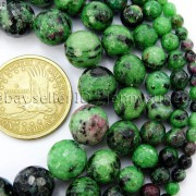 Natural-Ruby-Zoisite-Gemstone-Faceted-Round-Beads-155-4mm-6mm-8mm-10mm-12mm-262028492555-2