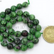 Natural-Ruby-Zoisite-Gemstone-Faceted-Round-Beads-155-4mm-6mm-8mm-10mm-12mm-262028492555-3