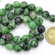 Natural-Ruby-Zoisite-Gemstone-Faceted-Round-Beads-155-4mm-6mm-8mm-10mm-12mm-262028492555-4