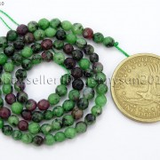 Natural-Ruby-Zoisite-Gemstone-Faceted-Round-Beads-155039039-4mm-6mm-8mm-10mm-12mm-262028492555-033a