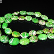 Natural-Sea-Sediment-Jasper-Gemstone-Oval-Beads-Limegreen-16-12x-16mm-13x-18mm-370976813278-2