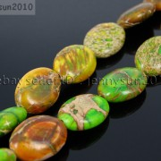 Natural-Sea-Sediment-Jasper-Gemstone-Oval-Beads-Limegreen-16-12x-16mm-13x-18mm-370976813278-3