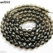 Natural-Smoky-Quartz-Gemstone-Round-Loose-Beads-1550390394mm-4mm-6mm-8mm-10mm-12mm-261066376451-add6