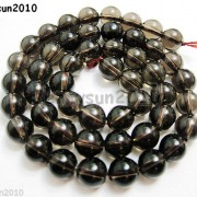Natural-Smoky-Quartz-Gemstone-Round-Loose-Beads-1550390394mm-4mm-6mm-8mm-10mm-12mm-261066376451-bce7