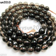Natural-Smoky-Quartz-Gemstone-Round-Loose-Beads-1550390394mm-4mm-6mm-8mm-10mm-12mm-261066376451-e369