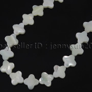 Natural-White-Mother-Of-Pearl-MOP-Shell-Clover-Spacer-Loose-Beads-Strand-16039039-262712114644-cc98