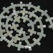 Natural-White-Mother-Of-Pearl-MOP-Shell-Cross-Spacer-Loose-Beads-Strand-16039039-282217316913-0991
