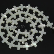 Natural-White-Mother-Of-Pearl-MOP-Shell-Cross-Spacer-Loose-Beads-Strand-16039039-282217316913-0ebc