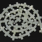 Natural-White-Mother-Of-Pearl-MOP-Shell-Cross-Spacer-Loose-Beads-Strand-16039039-282217316913-540d