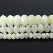 Natural-White-Mother-Of-Pearl-MOP-Shell-Faceted-Rondell-Beads-16-4mm-6mm-8mm-282186834458-2