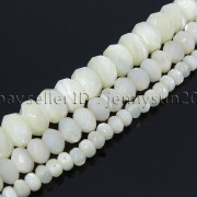 Natural-White-Mother-Of-Pearl-MOP-Shell-Faceted-Rondell-Beads-16-4mm-6mm-8mm-282186834458-3