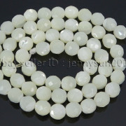 Natural-White-Mother-Of-Pearl-MOP-Shell-Faceted-Round-Beads-16039039-4mm-6mm-8mm-262612247345-217f