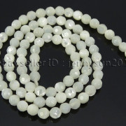 Natural-White-Mother-Of-Pearl-MOP-Shell-Faceted-Round-Beads-16039039-4mm-6mm-8mm-262612247345-8d29