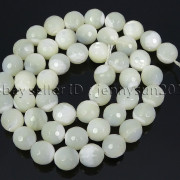 Natural-White-Mother-Of-Pearl-MOP-Shell-Faceted-Round-Beads-16039039-4mm-6mm-8mm-262612247345-e583