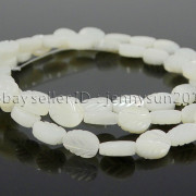 Natural-White-Mother-Of-Pearl-MOP-Shell-Leaf-6-x-8mm-Loose-Spacer-Beads-16-371730450470-3