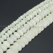Natural-White-Mother-Of-Pearl-MOP-Shell-Rondell-Beads-155-4mm-6mm-8mm-10mm-371742323033-3