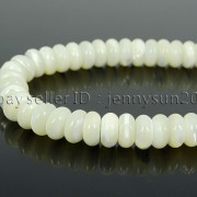 Natural-White-Mother-Of-Pearl-MOP-Shell-Rondell-Beads-155-4mm-6mm-8mm-10mm-371742323033-4