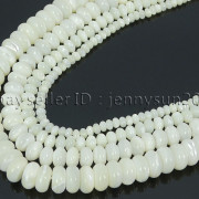 Natural-White-Mother-Of-Pearl-MOP-Shell-Rondell-Beads-155-4mm-6mm-8mm-10mm-371742323033-6