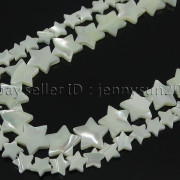 Natural-White-Mother-Of-Pearl-MOP-Shell-Star-Spacer-Loose-Beads-Strand-16-371795918981-3