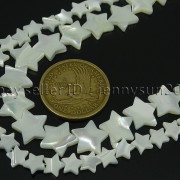 Natural-White-Mother-Of-Pearl-MOP-Shell-Star-Spacer-Loose-Beads-Strand-16-371795918981-4