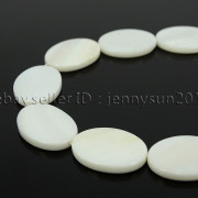 Natural-White-Mother-Of-Pearl-Sea-Shell-Spacer-Beads-15-Oval-Teardrop-Flower-262478365988-4