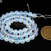 Natural-White-Opal-Gemstone-Faceted-Round-Beads-15039039-4mm-6mm-8mm-10mm-12mm-14mm-261318259874-24f3