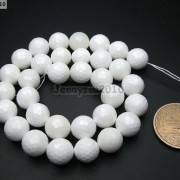 Natural-White-Tridacna-Faceted-Round-Beads-16039039-4mm-6mm-8mm-10m-12mm-14mm-16mm-261324687265-e11b