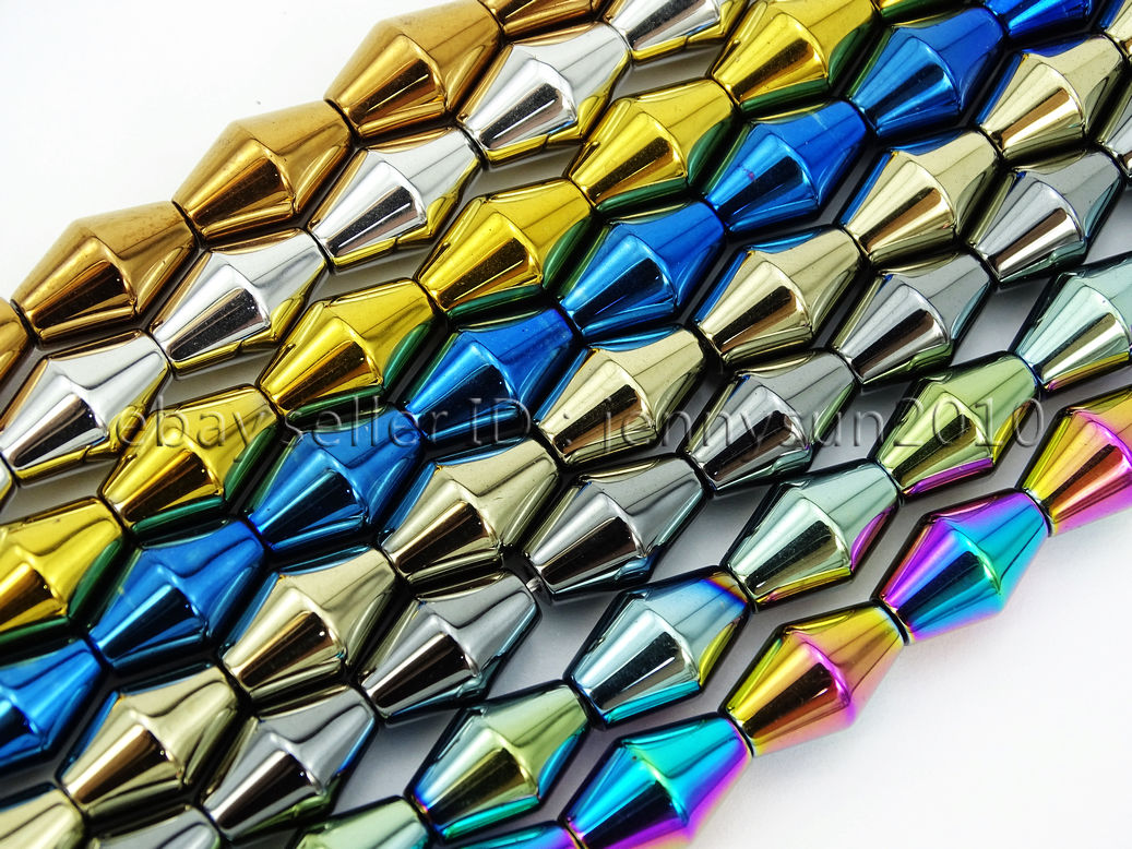 4x2mm Blue Hematite Heishi Spacer Pendant Loose Bead 15.5 inch 18g A-449TS