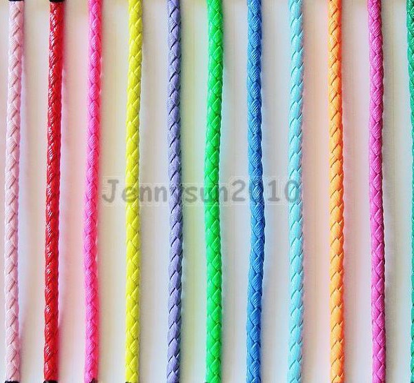 PU-Leather-Braid-Round-Rope-Hemp-Cord-Thread-For-Diy-Jewelry-Bracelet-Necklace-281181603659