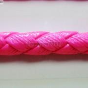 PU-Leather-Braid-Round-Rope-Hemp-Cord-Thread-For-Diy-Jewelry-Bracelet-Necklace-281181603659-883c