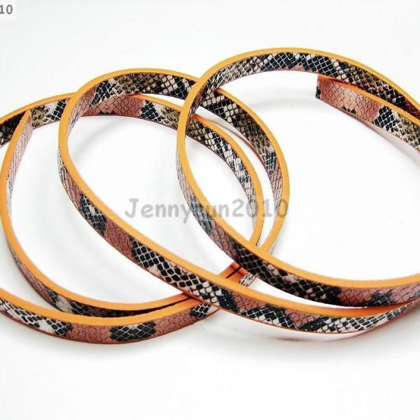 PU-Leather-Snake-Skin-Print-Belt-Band-For-Diy-Making-Wristband-Waistband-More-370909528575