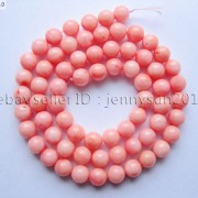 Pink-Natural-Coral-Gemstone-Round-Spacer-Beads-16039039-2mm-3mm-4mm-5mm-6mm-7mm-8mm-251083191765-069f