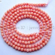 Pink-Natural-Coral-Gemstone-Round-Spacer-Beads-16039039-2mm-3mm-4mm-5mm-6mm-7mm-8mm-251083191765-1958