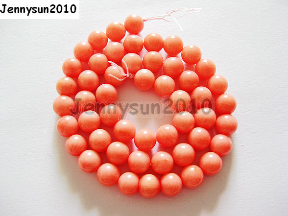 Natural Gemstone Red Coral Round Spacer Beads 2mm 3mm 4mm 5mm 6mm 7mm 8mm 16''